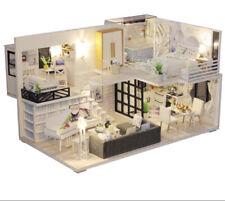 Casa Delle Bambole In Miniatura da Costruire Modellismo Con Led Tua In 24/48h