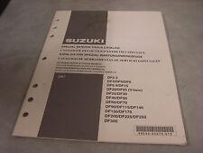 SUZUKI 2007 4 Stroke OEM Service Tools Catalog #99530-03070-015  2-D-2