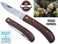 Pocket Folding Opening Knife Camping Hunting Fishing Stainless Steel
