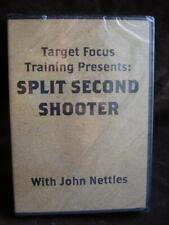 SPLIT SECOND SHOOTER TARGET FOCUS TRAINING PRESENTS DVD NEW SEALED JOHN NETTLES