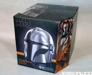 ! EMPTY BOX ! The Mandalorian Helmet black series Hasbro Star Wars For Display