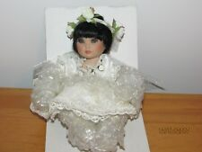 Princess Rosebud Tiny Tot porcelain doll,by Marie Osmond,Niob,Cao,free shipping.