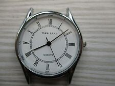 mens park lane watch head,,,, appears new for parts, doesnt run