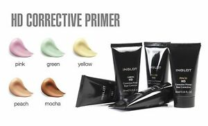 INGLOT HD Corrective Primer Under Makeup Base Pink RRP £22