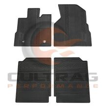 2010-2017 GMC Terrain Genuine GM Front & Rear All Weather Floor Mats Black