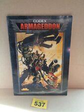 Warhammer 40k Codex Armageddon Soft Cover 537