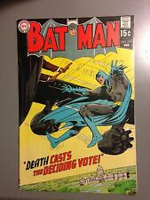Batman 219 FN/VF 1st Adams Art in Title Great Color Glossy Cover!!