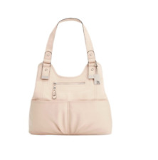 2c3f2123d302 Style&Co Purse $109 NWT Kenza A-Line Organizing Compartment Shoulder Tan  Shell