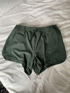 Charlie MZ Green Swim Trunks Large