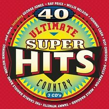 Various Artists - Ultimate Country Super Hits / Various [New CD] Boxed Set