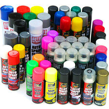 Spray Paint Black White Blue Red Primer Neon Glitter Lacquer Pink Gloss Matt Car