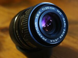 EXCELLENT ++ Carl Zeiss Jena MC Prakticar (Flektogon) 2.4/35mm with Sony E mount