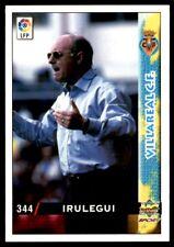 Mundicromo Las fichas de la Liga 98 99 Irulegui Villareal Entrenador No. 344