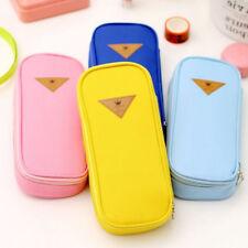 New Cute Large Capacity Pen Pencil Case Pen Box School Stationery Cosmetic Bag