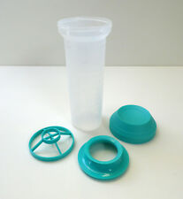 TUPPERWARE Mix-Fix Shaker 750ml Shaky TÜRKIS