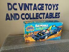 VINTAGE 1984 KENNER DC SUPER POWERS BATMAN & ROBIN BATMOBILE Unused LOOK!
