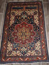 3x4ft. Antique Signed Wool Rug