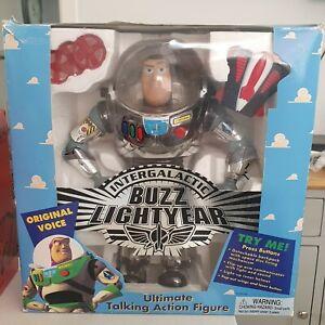 Buzz Lightyear Intergalactic Ltd Edition, Chrome Finish.