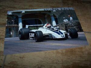 Photo / Photograph Nelson Piquet BRABHAM Ford Long Beach 1980 //