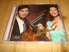 ANGELA HEWITT Bach Gamba Sonatas MÜLLER-SCHOTT ORFEO CD C693071A Signed Signiert