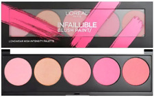 L'Oreal Infaillible Blush Paint Palette THE PINKS Face Makeup Blusher Palette