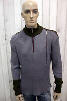 VERSACE Maglione Uomo Taglia XL Casual Lana Sweater Pull Pullover Invernale Man