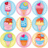 144 Sweet Summer Ice Cream 30mm Children's Reward Stickers, Teachers, Party Bags