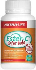Nutra - Life Ester C For Kids 100mg Chewable Tablets 120 - FREE SHIPPING