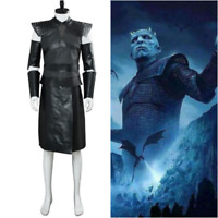Game of Thrones S8 Cosplay Nights King Costume The White Walker Commander Outfit