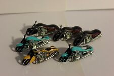 HOT WHEELS  SCORCHIN' SCOOTER RARE LOOSE LOT OF 6