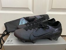 New listing Nike Mercurial Vapor 13 Elite FG- Mens- Size 8- Black- [AQ4176-010]Soccer Cleats