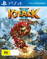 Knack 2 PS4 PlayStation 4 PS4 Game Brand New Sealed
