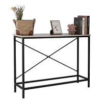 Home Console Table Wood Entryway Sofa Porch Accent Hallway Living Room Furniture