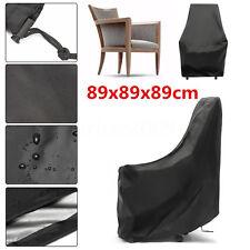 Waterproof Single Chair Cover Outdoor Patio Garden Furniture Storage 89x89x89cm