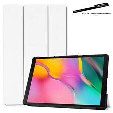 Coque Smart Blanc Premium pour Samsung Galaxy Tab A 8.0 2019 SM T290 T295
