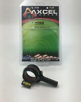T.R.U. Ball® AXCEL® X-31 Scope - 31mm Yoke Connection System Black AX31-YCS-BK