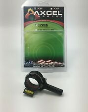 T.R.U. Ball® AXCEL® X-31 Scope - 31mm Yoke Connection System Black AX31-YCS-BK