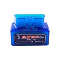 Super Mini OBD2 ELM327 V1.5 Bluetooth Car Scanner Android Torque Auto Scan Tool