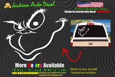 8 Sizes Grinch Face Christmas Car Window Decal Sticker Macbook Laptop iPad wall