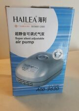 HAILEA ACO 9630 PREMIUM LOW NOISE 8 WAY AIR PUMP HYDROPONIC FISH TANK PUMP