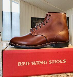 Rare Japan Red Wing 9063 Beckman Flatbox 10.5 D Teak Featherstone Iron Ranger 🔥