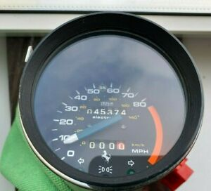 Ferrari 308 GTB 1976 Speedo Meter MPH Speedometer Mph USA SPEC 116954