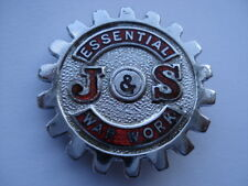 CWW2 VINTAGE J&S ESSENTIAL WAR WORK ENAMEL PIN BADGE