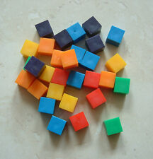 30 x 1cm Squares Counting Sorting Cubes KS1 Maths Childrens Childs Number School