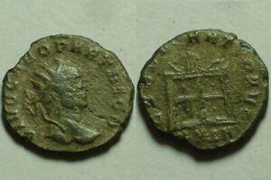 Rare Original ancient Roman Divus coin Carus Carinus Numerian Antoninianus Altar