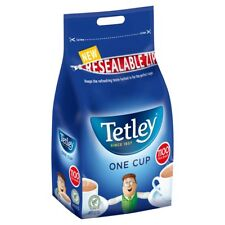 Tetley Tea Bags 1100 1 Cup Black Teabags 2.5kg Office Catering Supplies Bulk