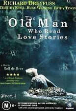 The Old Man Who Loved Reading Love Stories dvd brand new sealed Richard Dreyfuss