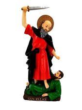"""12"""" Saint St Elijah San Elias Statue Religious Figurine Religious Santo"""