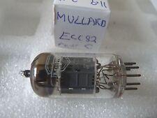 ECC82 mullard c utilisé stock ancien tube vannes 1 pc J17A