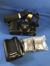 Olympus PEN E-P3 12.3MP Digital Camera - Black With Three Batteries, Strap